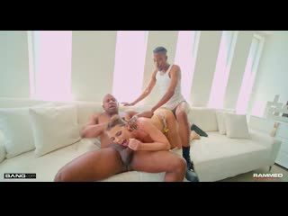 Adriana Chechik - Gets Her Pussy And Asshole Stuffed By Two Big Black Cocks [Bang] Anal, Facial Cums