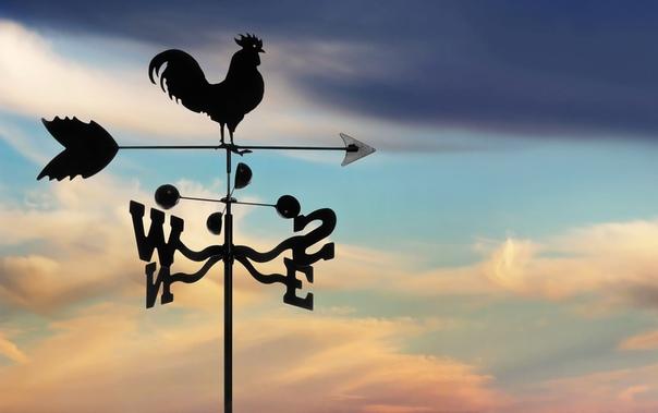 Сказка о Повелителе Ветра. Пару лет назад на крыше дома одного благородного семейства появился новенький флюгер. Металлическая птица, покрытая золотистой краской, резво вертелась во все стороны
