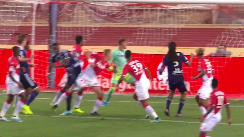 Монако - Лион. AS Monaco - Olympique Lyonnais. Résumé - (ASM - OL) - 2019-20