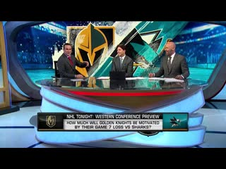 Nhl tonight knights vs. sharks oct 1, 2019
