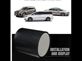 Автомобильная защитная пленка для порогов авто из Углеродное волокна