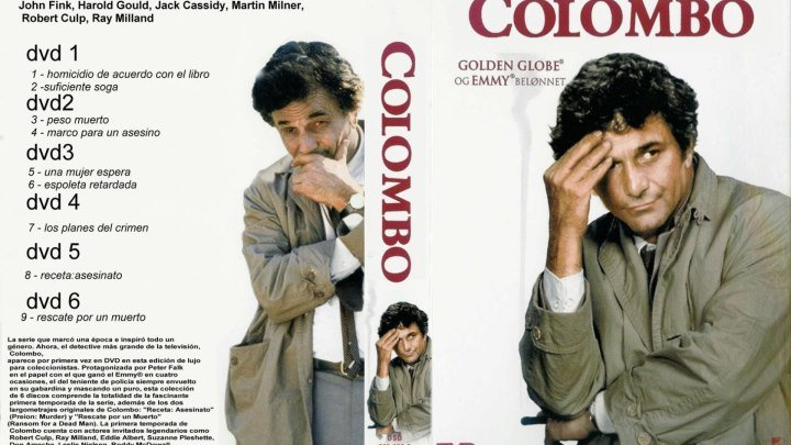 Colombo Cap 7 *Los planos del crimen*