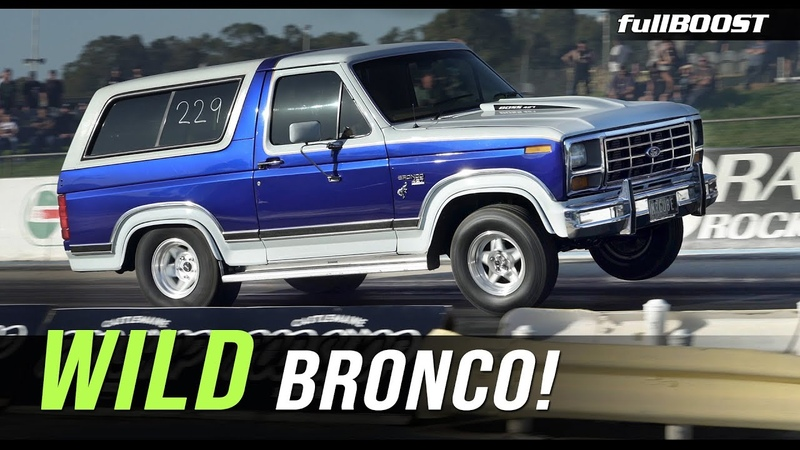 Boosted Bronco gets rowdy fullBOOST