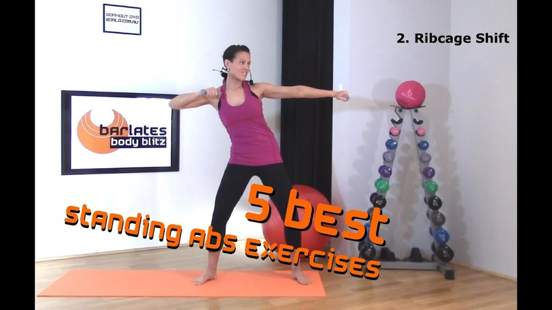 FREE Standing Abs Workout 5 Best Standing Abs Exercises BARLATES BODY BLITZ