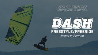 2017/18 Naish Dash | Freestyle/Freeride Performance Kite