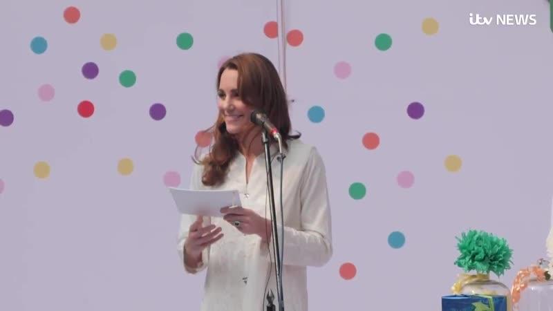 Речь Кэтрин в деревне для детей-сирот, 17.10.2019