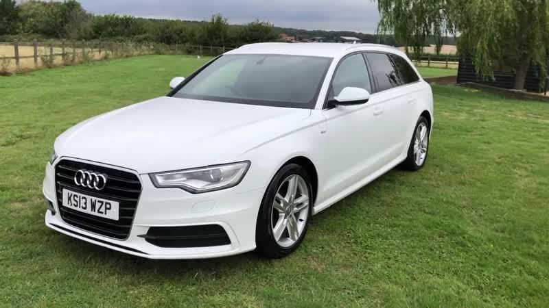 Audi A6 estate auto 2013 13 white for sale @ Auto 2000