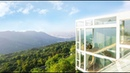3個直男,在重慶懸崖邊造了個玻璃民宿 Three Men Build a Glass Guesthouse on Cliff Edge in Chongqing