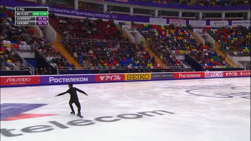 Men Short Program Rostelecom Cup 2019 @GPFigure Full HD