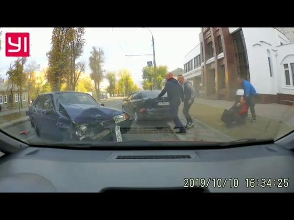 Аварія в Черкасах постраждала жінка