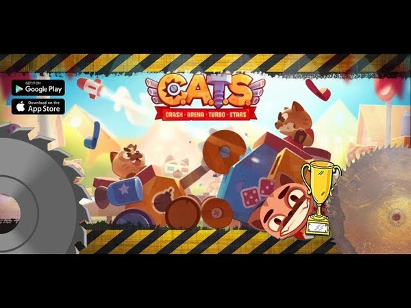 Разрушительная арена. C.A.T.S. Crash Arena. Экшен уничтожение машин.