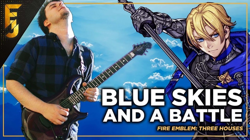 Fire Emblem Three Houses Blue Skies and a Battle Cover by FamilyJules