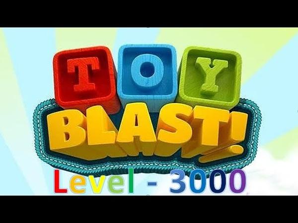 Toy Blast Level 3000