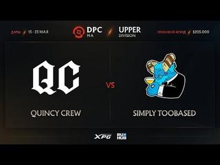 Quincy Crew vs simply TOOBASED, Dota Pro Circuit 2021 NA S2, bo3, game 2 [Mila & CrystalMay]