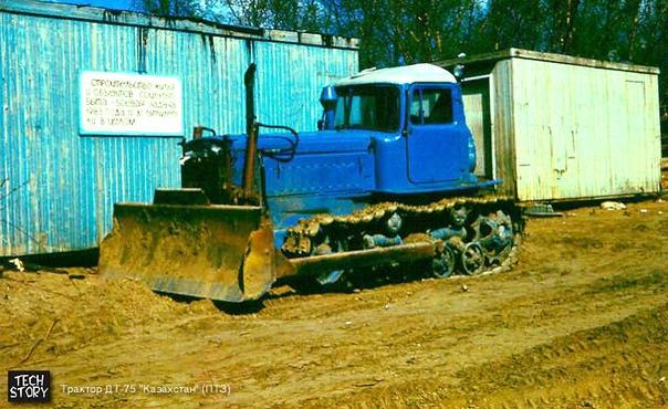 Продам трактор дт 75 Казахстан, на полном рабочем ходу, с маленькой ка