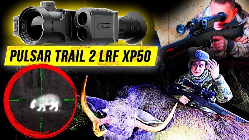 Обзор Pulsar Trail 2 LRF XP50 Охота на Лося 2020 Добыт Бычок База Охоты Изюбрь Охота на Кабана