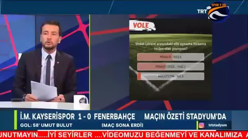 Kayserispor 1-0 Fenerbahçe Tümer Metin ve Ali Gültekin Yorumları Maç Sonu Yoruml.mp4