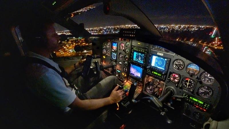 INTO THE NIGHT Single Pilot IFR Flight