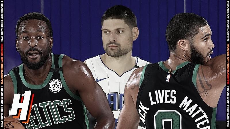 Orlando Magic vs Boston Celtics - Full Game Highlights August 9, 2020 NBA Restart
