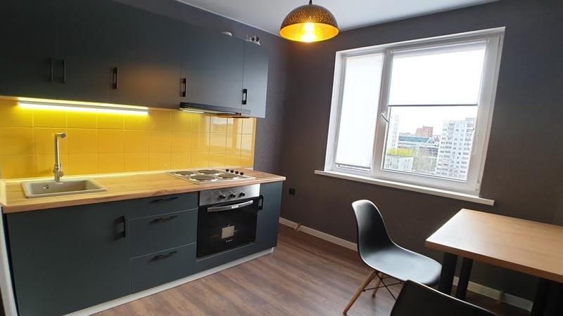 Обзор Ремонта Квартиры 33м2 Кухня за 240$ Сборка Мебели Своими Руками