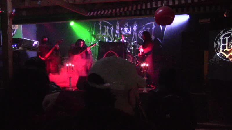Hnagash- live in Black Vomit X Vengeance from the Darkness ,Concepcion, Chile. 14 de septiembre de 2019