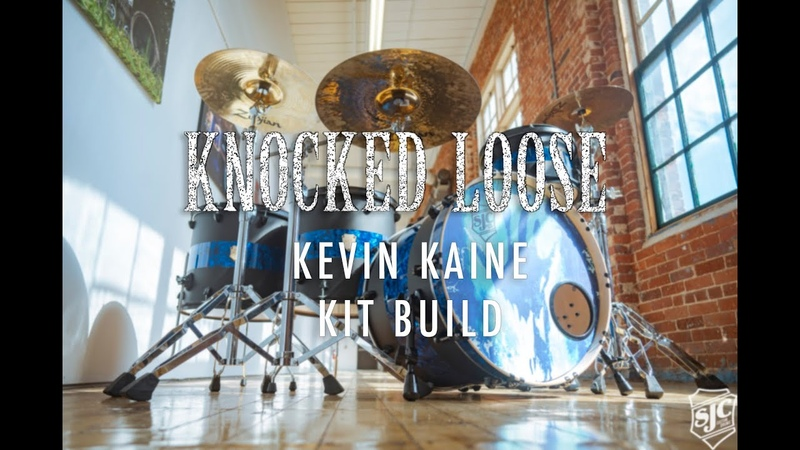 Crafting a Custom Kit for Kevin Kaine and Knocked Loose! SJC Custom Drums