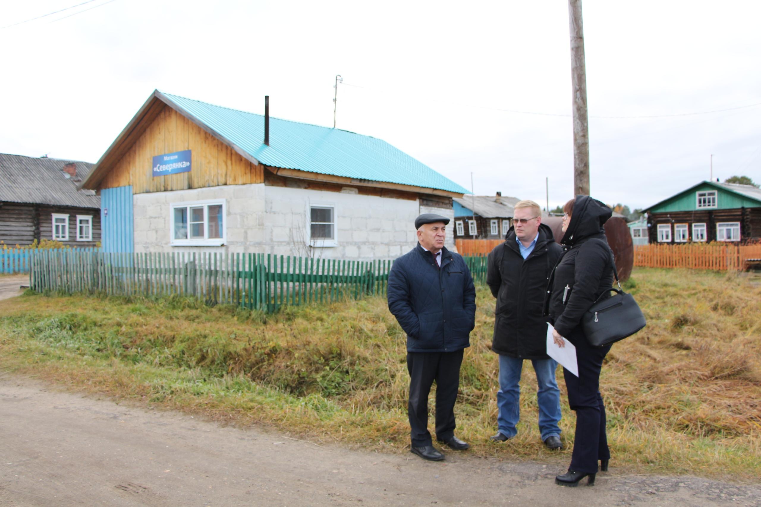 Николай Жилин посетил населенные пункты Благоевского куста с рабочей поездкой