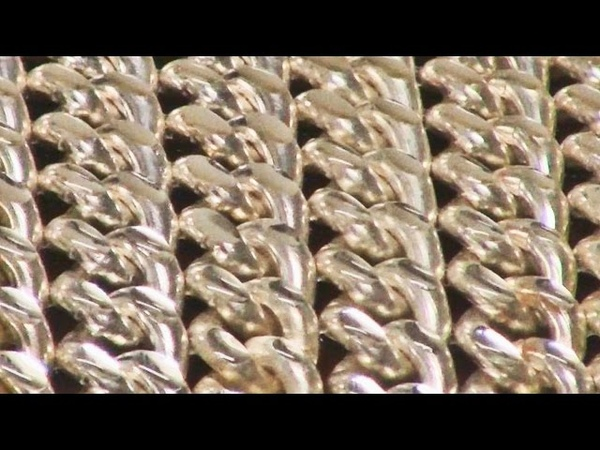 Embellishing Curb Chain With Facets Using Cutting Diamonds