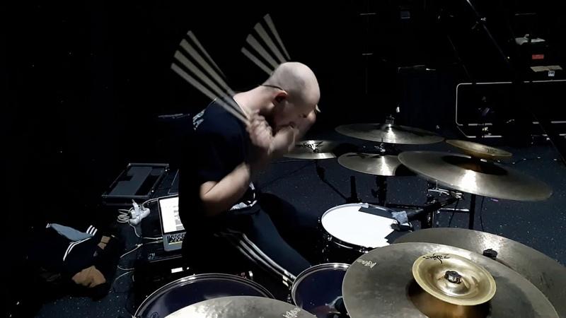 JINJER Perennial Live Drum Playthrough