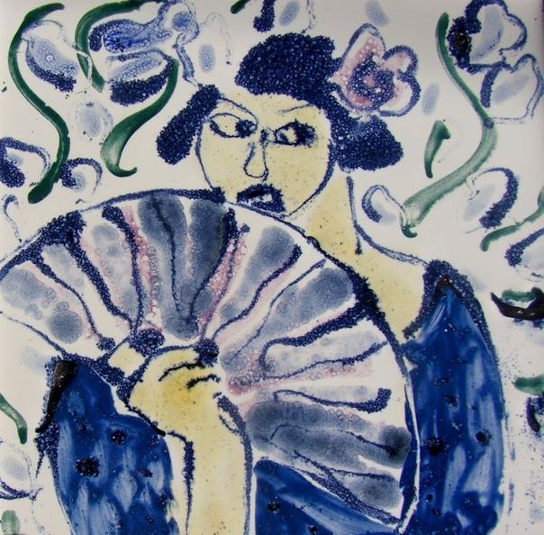 Ирина Николина (Феодосия) керамика, эмаль