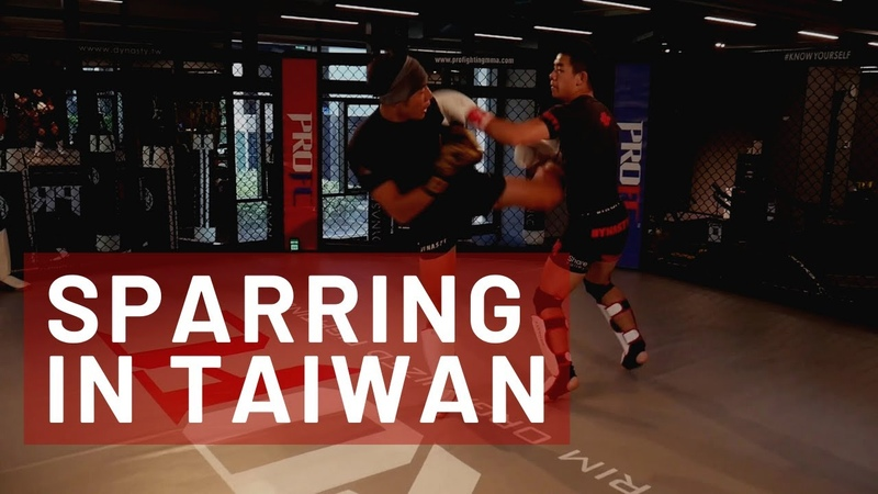 Sparring Asian Dominick Cruz?!