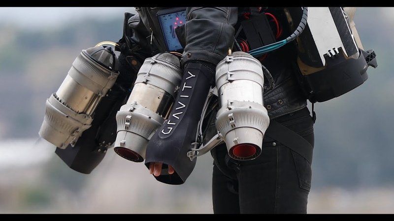 Flying like Iron Man Up Close with Richard Browning's Gravity Jet Suit