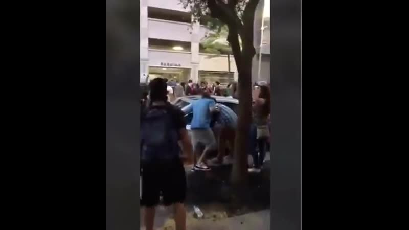 BLM rioters in Houston attack a CHILDREN'S HOSPITAL in Houston and take pleasure in the young children scream with terror