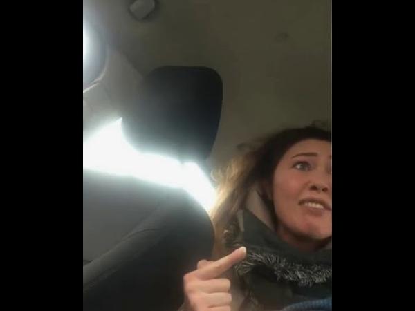 Вези меня мразь Женщина орёт на таксиста осторожно нецезурная лексика