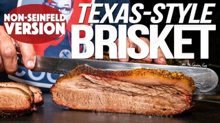 TEXAS STYLE SMOKED BRISKET AT HOME (NON REVERSE VERSION) | SAM THE COOKING GUY