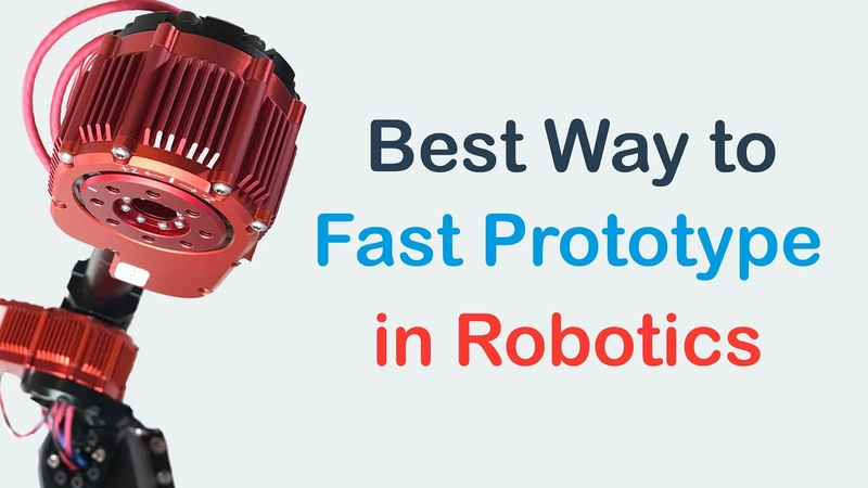 Extremely Fast Way to Prototype in Robotics
