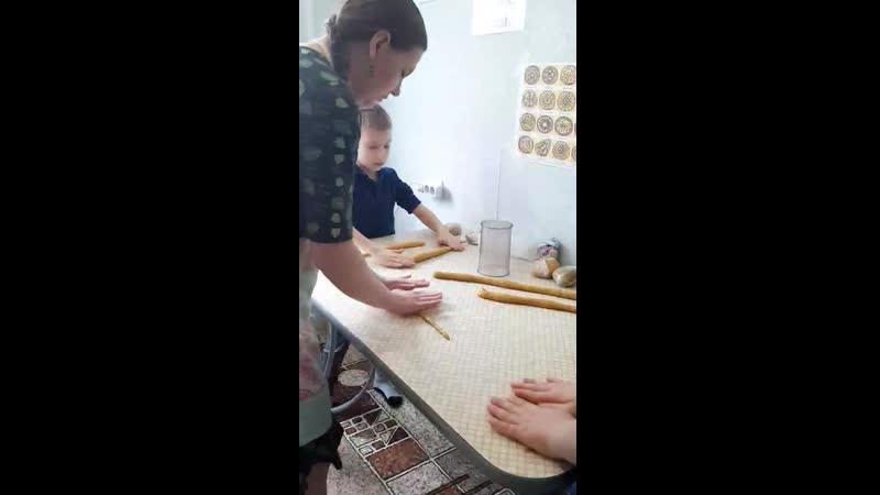 Тетёрки кулинарный урок