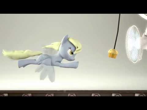 SFM Ponies Derpy's Full workout Part 2