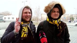 ФК «Тюмень» форсировал «Волгу», а сибирские болельщики дружески встретили фанатов из Ульяновска