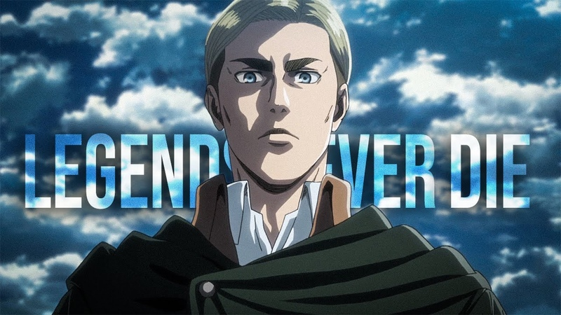 Attack on Titan Erwin Smith Legends Never Die