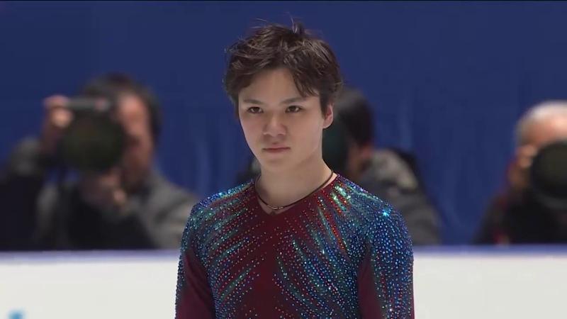 【フジテレビ公式】全日本フィギュアスケート選手権2019<男子ショート3