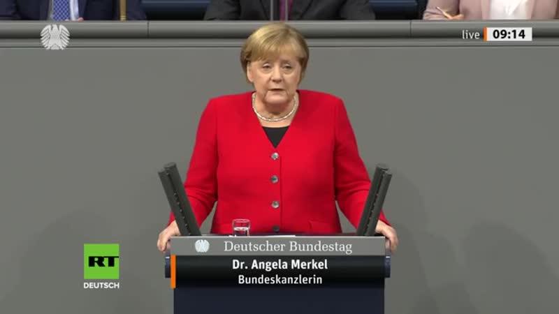 Merkel über Bedrohung durch Russland Brauchen NATO heute mehr als im Kalten Krieg