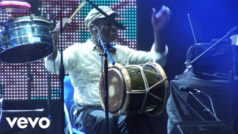 Juan Luis Guerra Solo de Percusion Live