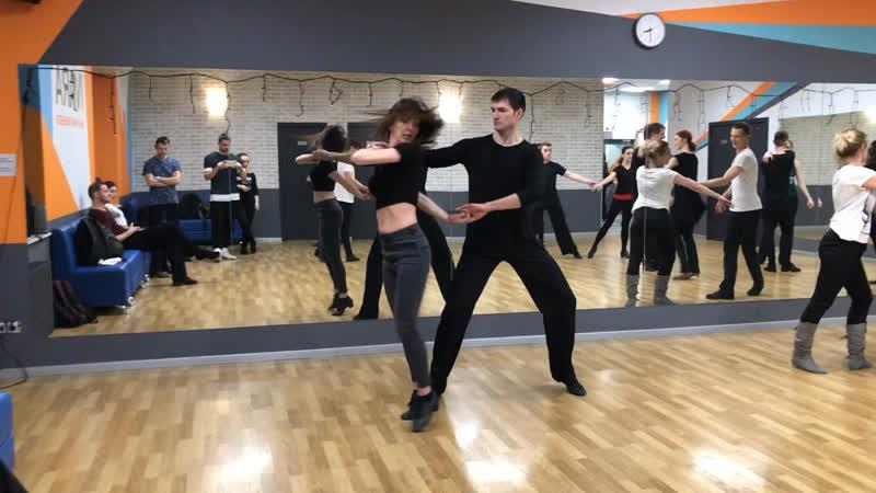 Хастл ДНД импровизация, Илюшников Алексей и Маликова Марика.