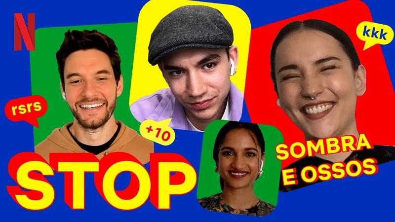Elenco de Sombra e Ossos joga Stop! e ganha mais pontos no meu coração | Netflix Brasil
