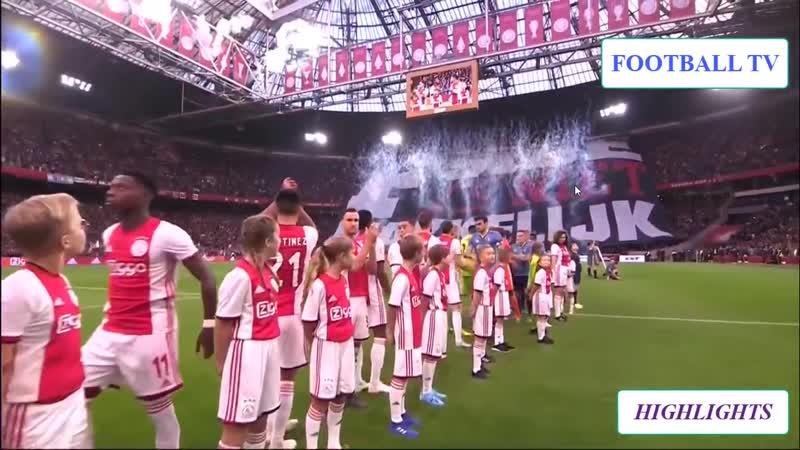 Ajax - Feyenoord ( 4-0 ) 27-10-2019