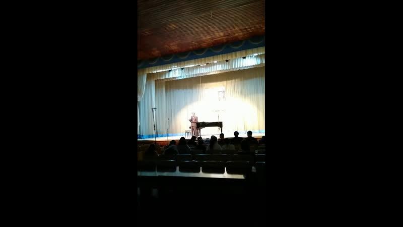 Концерт в музучилище г Ижевска музыка Германа Корепанова классика удмуртской музыки
