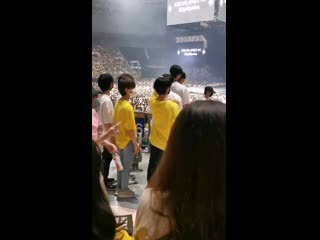 fancam 190721 SMROOKIES @ EXO's Concert