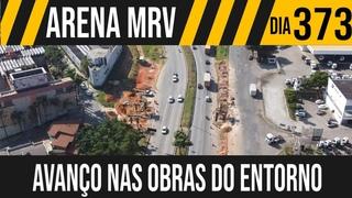 ARENA MRV   5/7 AVANÇO NAS OBRAS DO ENTORNO   28/04/2021