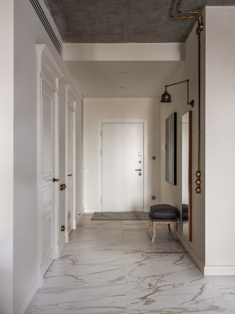 Квартира в доме на Мосфильмовской по проекту Ирины Кривцовой, 72 м²